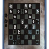 Blue magnetic chess